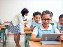 iPad facilitates students' learning in our classrooms